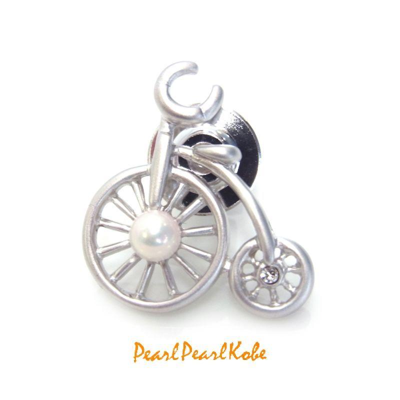 タックブローチ 自転車