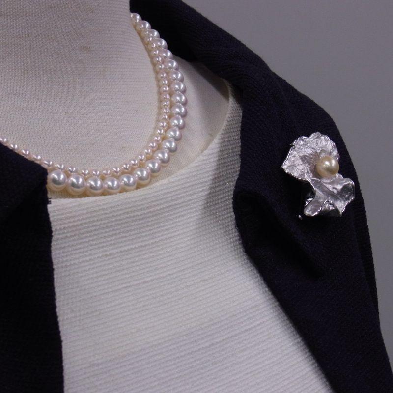 あこや真珠ネックレス ベビーパールネックレス パールネックレス7-7.5mm